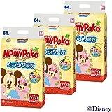 【ケース販売】マミーポコ テープ Mサイズ 64枚×3個