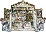 アドベントカレンダー クリスマスプレゼントを買いに(Kaufladen) ドイツ KORSCH(コルッシュ)社製 47.2cm×25cm