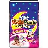 MamyPoko Kids Pants Girl, XXXL, 10ct