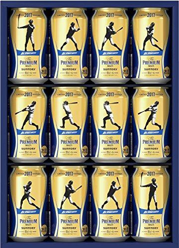 【WEB限定】ザ・プレミアム・モルツ イチローデザイン缶 オリジナルギフトセット 350ml×12本 BPCPN