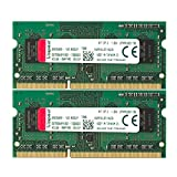 キングストン Kingston ノートPC用メモリ DDR3L 1600 (PC3L-12800) 4GB×2枚 CL11 1.35V Non-ECC SO-DIMM 204pin KVR16LS11K2/8 永久保証