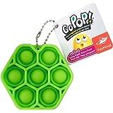 【正規品】 Go Pop mini 六角形 全6色 (※ 色はおまかせ) スクイーズ キーホルダー プッシュポップ