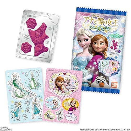 アナと雪の女王シールグミ 20個入りBOX(食玩)