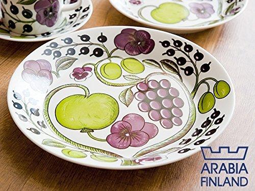 RoomClip商品情報 - [アラビア]ARABIA 8980 Paratiisi Purple パラティッシ パープル プレート 26cm [並行輸入品]