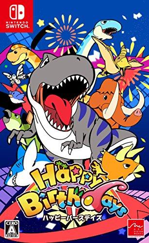 Happy Birthdays 【予約特典】生物図鑑ポスター 付 & 【Amazon.co.jp限定】くっつくアバターくんマグネット 付 - Switch
