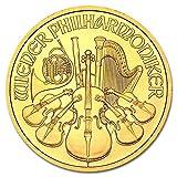 ウィーン金貨 1オンス オーストリア造幣局発行 31.1gの純金 K24金 地金型金貨 ゴールド コイン (ランダム・イヤー) 保証書付