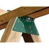Swing-N-Slide NE 4467-1 EZ Frame Bracket for Swing Set Swing Beam (Includes 1 Bracket), Green