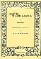グローヴレ : シシリエンヌとアレグロ ジョコーソ (ファゴット、ピアノ) ルデュック出版