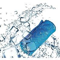 Subokスポーツタオル 冷感タオル 冷却 クール 吸水 速乾 熱中症対策 UVカット 運動 アウトドアの活動 ボトル携帯 100cm*30cm