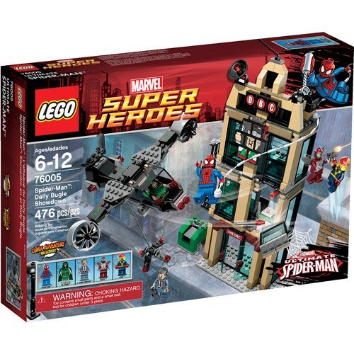 LEGO Super Heroes Spider-Man: Daily Bugle Showdow