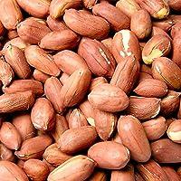 素煎りピーナッツ 薄皮付き (1kg) - 千葉県産 国産 完全無添加の新豆