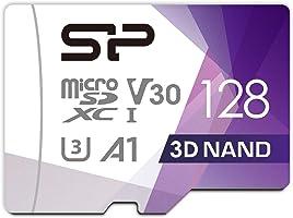 シリコンパワー microSD カード 128GB class10 UHS-1 U3 対応 最大読込100MB/s 4K対応 Nintendo Switch 動作確認済 3D Nand 2019年モデル 【Amazon.co.jp限定】
