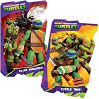 Teenage Mutant Ninja Turtles Board Book Set (2 Shaped Board Books) by Nick Jr