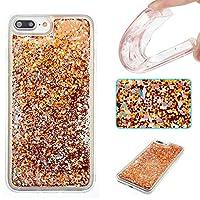 iPhone 7Plusケース、iPhone 8Plusケース、Ranyi [グリッター液体ケース] [ Glitter &液体移動Around ]流れる液体フローティングGlitter Bling Sparkle Quicksandケースfor Apple iPhone 7/ 8Plus Ranyi-2032236