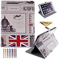 iPad Miniケース, Dteck ( TM )カラフルペイントキュートデザイン軽量PUレザーポケットケース[カード/現金スロット] for Apple iPad Mini 3/ 2/ 1 5024750