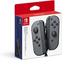 Nintendo Switch Joy Con Grey Controller Pair