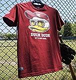 (ビーワンソウル) B-ONE-SOUL 大きいサイズ 東北楽天ゴールデンイーグルス×DUCK DUDE半袖Tシャツ 4L エンジ