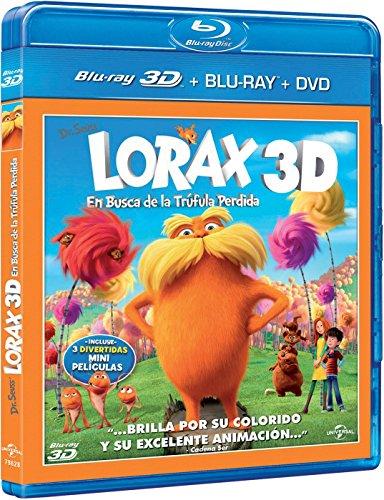 Lorax En Busca De La Tr曻ula Perdida (Bd Combo + Bd 3D) [Blu-ray]