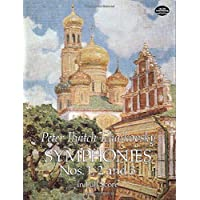 Tchaikovsky: Symphonies Nos. 1, 2 and 3 in Full Score