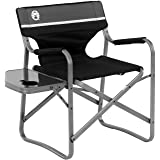 oleman Portable Deck Chair with Side Table