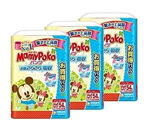 マミーポコ パンツ ビッグ (12~17kg)162枚(54枚×3)【ケース品】