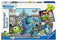 Disney Monster University - Mike and Sully (3 X 49 PC Puzzles)