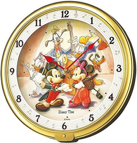 SEIKO CLOCK(セイコークロック)Disney (ディズニータイム) 掛け時計 ミッキー&フレンズ ミッキーマウス ミニーマウス FW521G