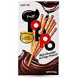 Lotte Toppo Vanilla Chocolate Flavour Pretzel Sticks, 40 g