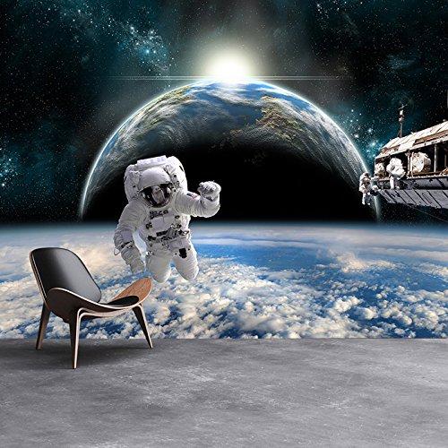 Astronaut Space壁壁画Planet Earthフォト壁紙男の子寝室ホームデコレーションで使用可能な8サイズ 08. Gigantic 333cm (W) x 250cm (H)