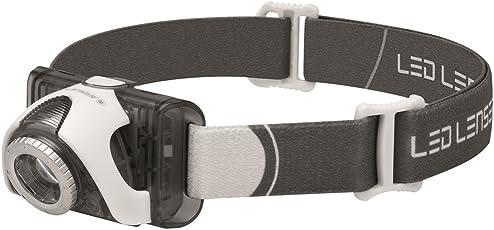 Ledlenser(レッドレンザー) LEDヘッドライト SEO5 釣り/登山/トレラン用 【明るさ約180ルーメン】 【最長7年保証】 単4乾電池(AAA) x3本/防水等級:IPX6 [日本正規品]