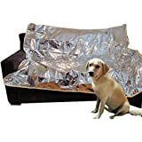 Mosher Pets - Indoor Pet Repeller Furniture Training Mat - Keep Cats and Dogs Off The Couch, Pet Deterrent and Barrier for Th
