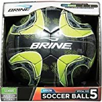 Brine Arrow Soccer Ball, Black, Size 5