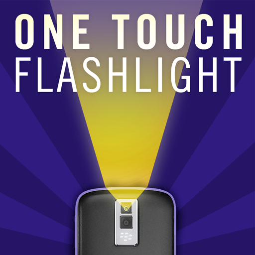 One Touch Flashlight (Uses Camera Light)