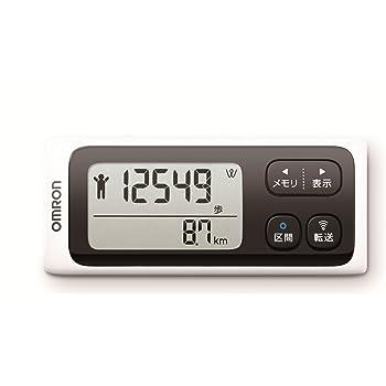 オムロン(OMRON) 歩数計 WellnessLink ホワイト HJ-205IT-W
