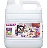 【業務用 大容量】トップ クリアリキッド抗菌 部屋干し 洗剤 蛍光剤無配合 洗濯洗剤 液体 4㎏