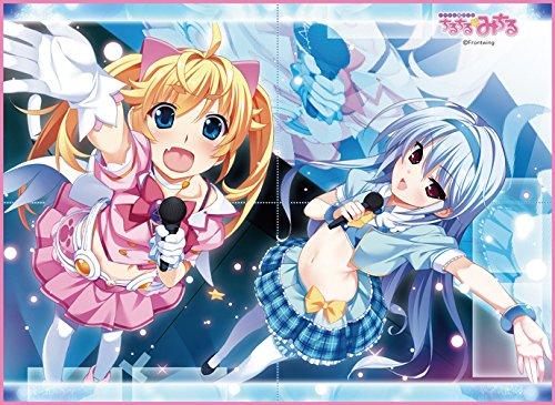 TCG万能プレイマット アイドル魔法少女ちるちるみちる 「みちる&一姫」の詳細を見る