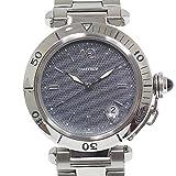 [カルティエ]CARTIER メンズ腕時計 パシャ 38mm W31017H3 グレー文字盤 OH済【中古】