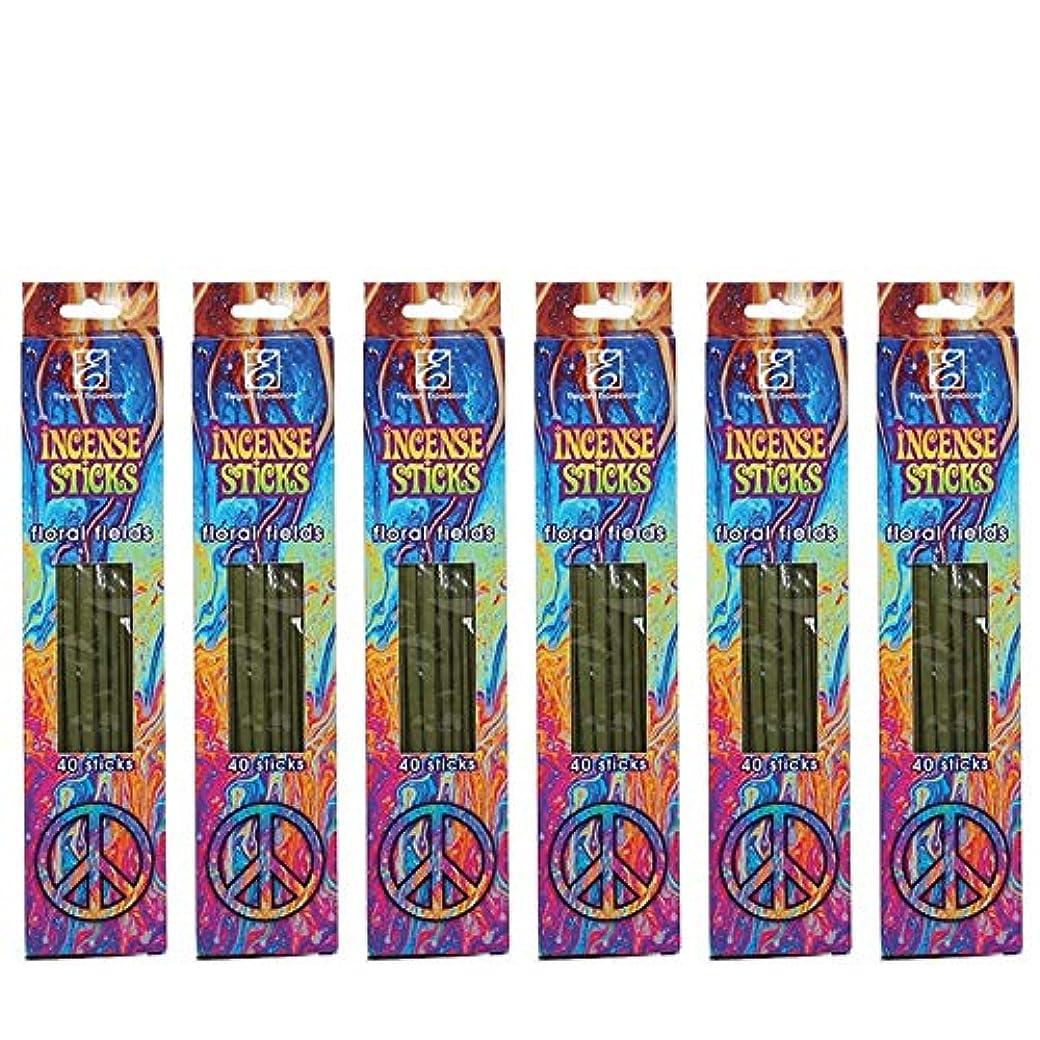 シャーロットブロンテループ学校教育Hosleyのフローラルの香りつきIncense Sticks 240パック。手Fragranced、Infused with Essential Oils。理想的なギフト、ウェディング、特別なイベント、アロマセラピー、...