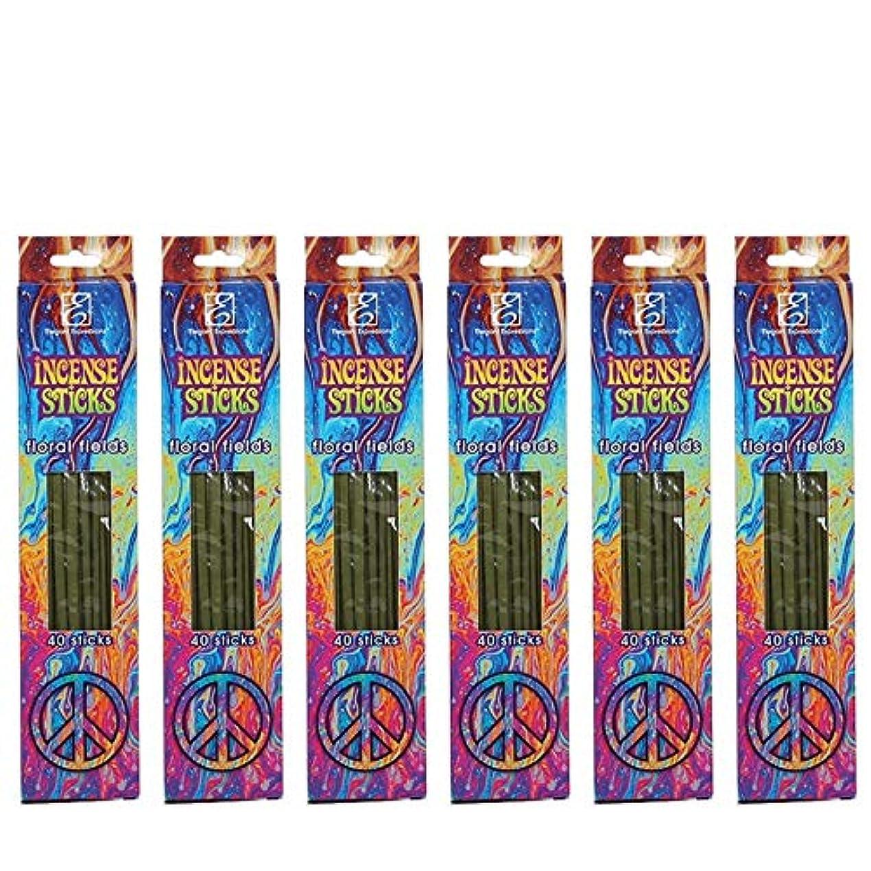 神経衰弱飢えた受取人Hosleyのフローラルの香りつきIncense Sticks 240パック。手Fragranced、Infused with Essential Oils。理想的なギフト、ウェディング、特別なイベント、アロマセラピー、...