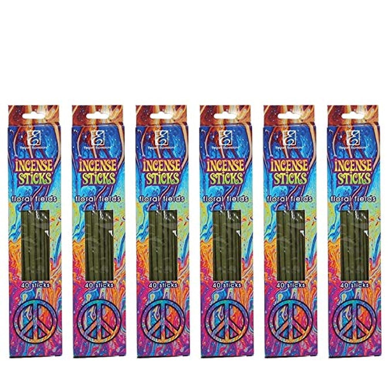 Hosleyのフローラルの香りつきIncense Sticks 240パック。手Fragranced、Infused with Essential Oils。理想的なギフト、ウェディング、特別なイベント、アロマセラピー、...