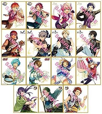 あんさんぶるスターズ! ビジュアル色紙コレクション BOX商品 1BOX = 15個入り、全15種類