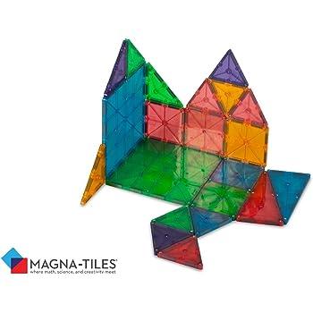 Amazon マグネット おもちゃ ブロック くっつくブロック Magna Tiles Translucent