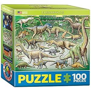 Eurographics恐竜ミニパズル( 100-piece )