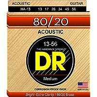 DR Strings Hi-Beam 80/20 - 80/20 Brass Acoustic13-56 [並行輸入品]