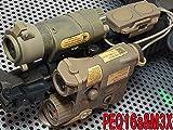 アドバンスドイルミネーターコンボセットレプリカ(PEQ-16a&M3X&ダブルスイッチ) TAN