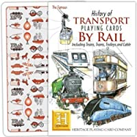 Heritage Playing Cards - History of Transport by Rail Playing Cards by Heritage