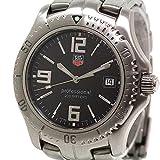 [タグホイヤー] TAG HEUER メンズクォーツ腕時計 リンク プロフェッショナル200 WT1110 ブラック文字盤【中古】