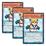 3枚 遊戯王 日本語版 NECH-JP039 レスキューラット (レア)
