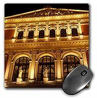3drose 8x 8x 0.25インチマウスパッドオーストリア,ウィーン音楽ホール、Philharmonic Orchestra,リチャード・Duval (MP 75916_ 1)