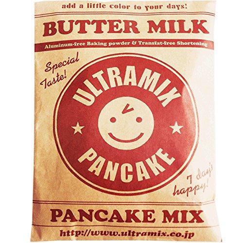 北海道産バターミルク入り・ウルトラミックス・パンケーキミックス プレーン200g